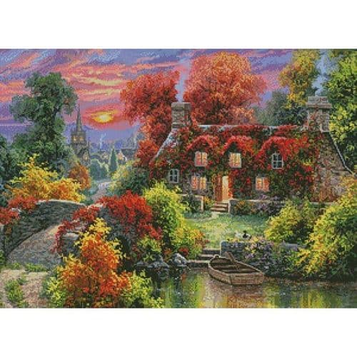 A Place to be Still by Artecy printed cross stitch chart